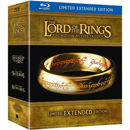 LOTR Extended Blu Ray