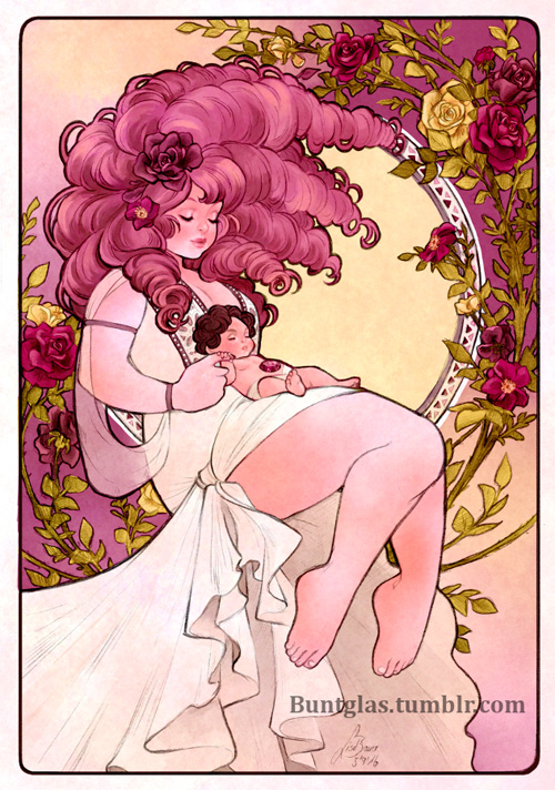 Art Nouveau Steven Universe Fan Art
