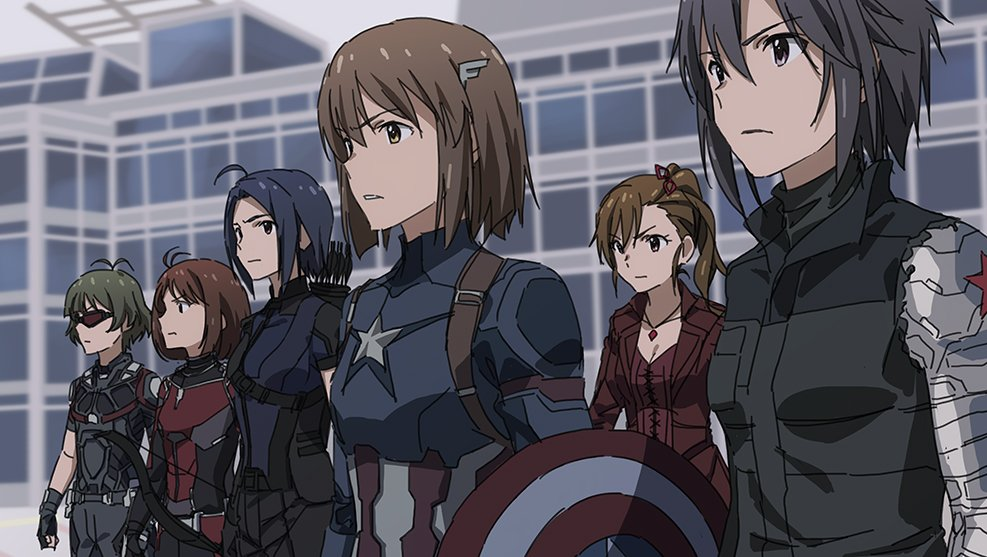 If Captain America: Civil War Was Anime