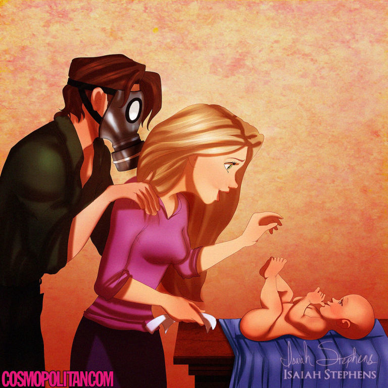 Disney Princesses As Parents