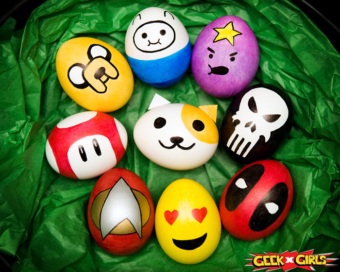 Geek Easter Eggs