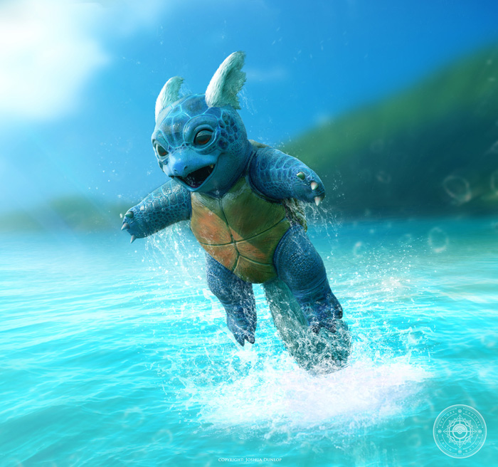 Realistic Pokemon Fan Art Part II