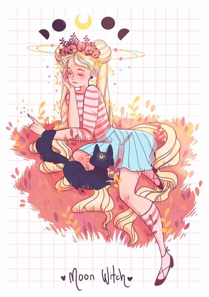Sailor Moon Witches Fan Art