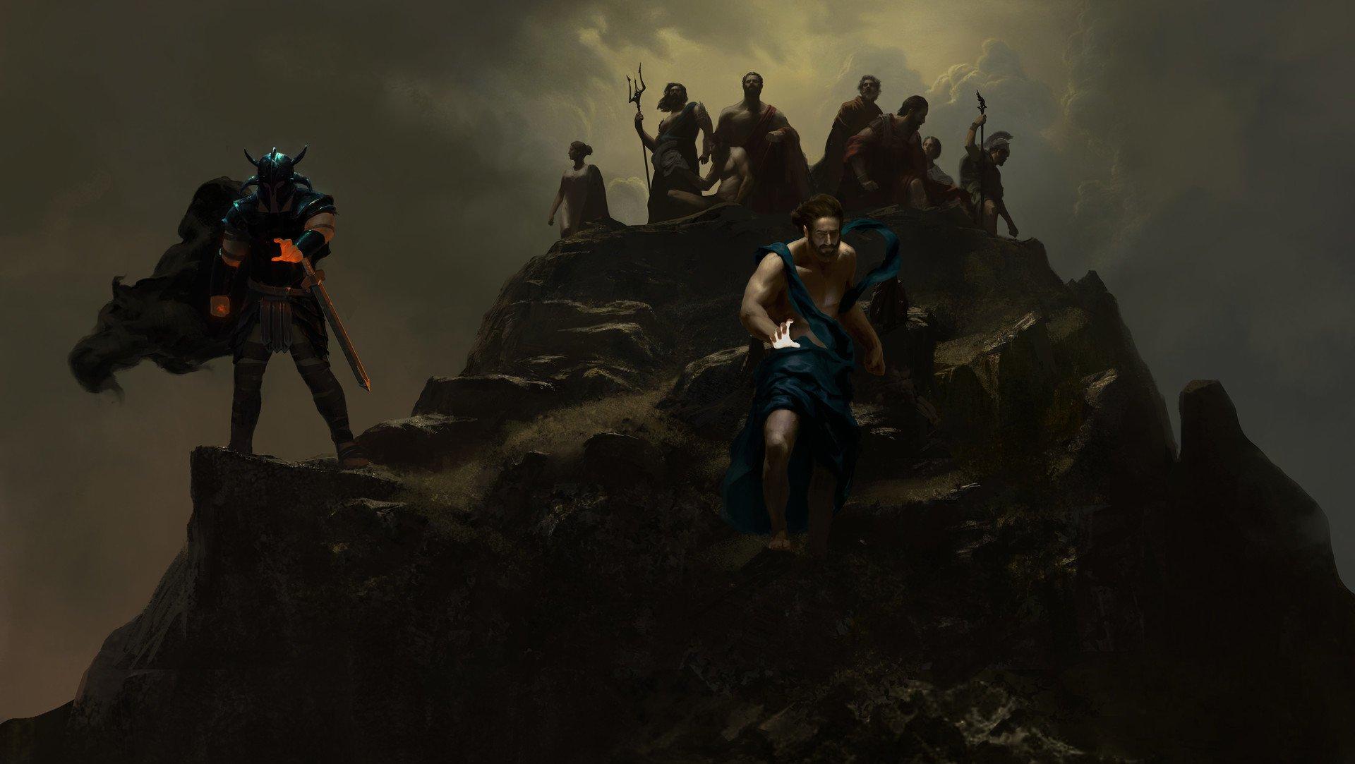 Wonder Woman - History Painting