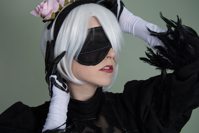 2B from NieR: Automata Valentines Day Cosplay
