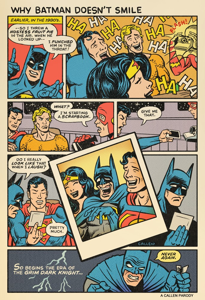 Why Batman Doesnt Smile - Comic