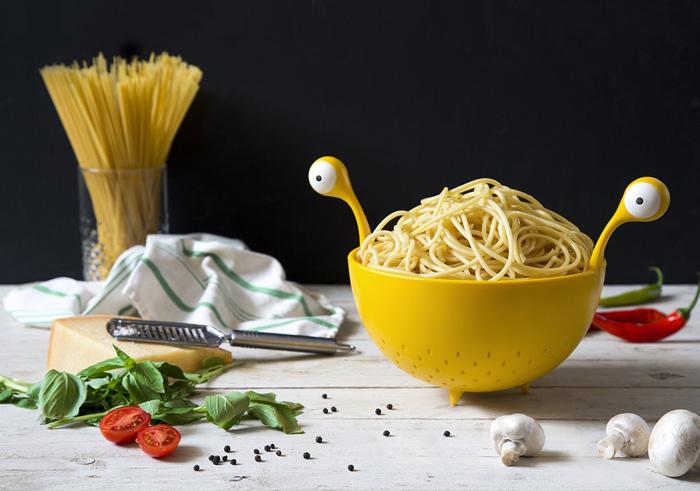 Flying Spaghetti Monster Colander