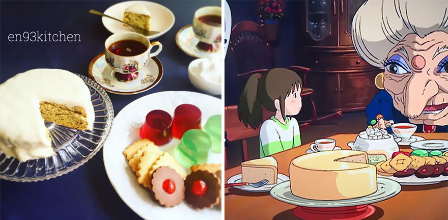 Food from Miyazaki Anime Films In Real Life