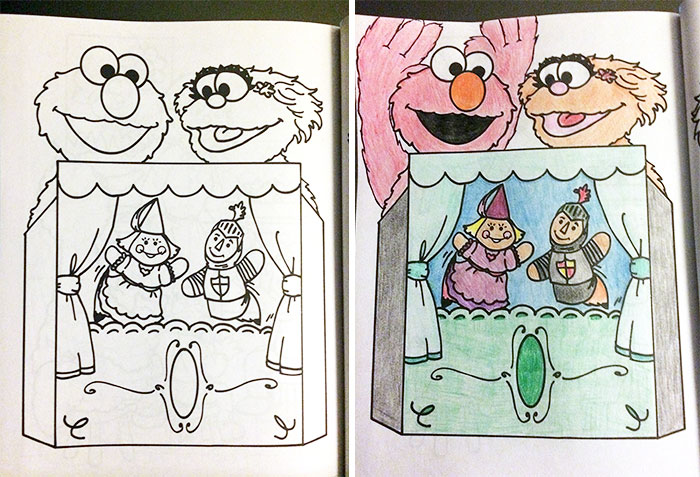 Inappropriate Coloring book Pages