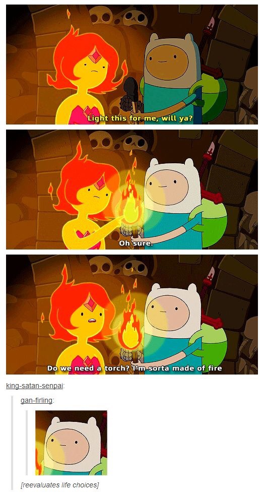 Finn And Flame Princess Married