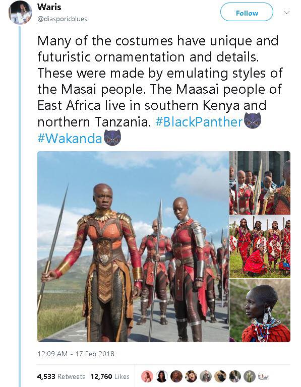 African Influences in Black Panther