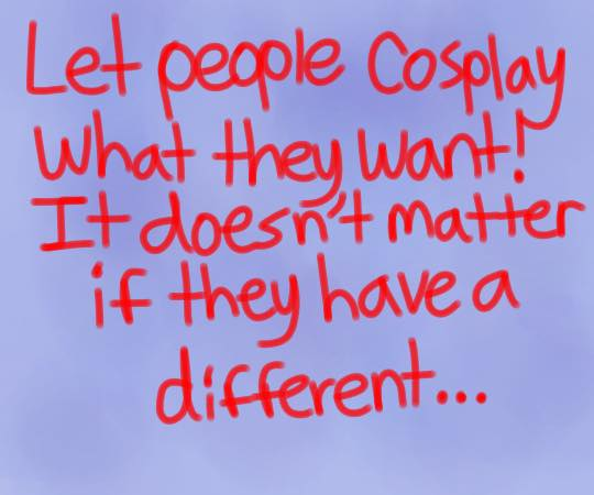 Cosplay is for Everyone - Comic