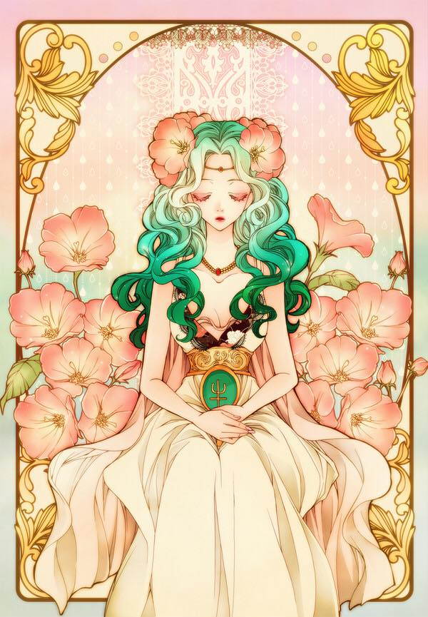Art Nouveau Sailor Moon Fan Art