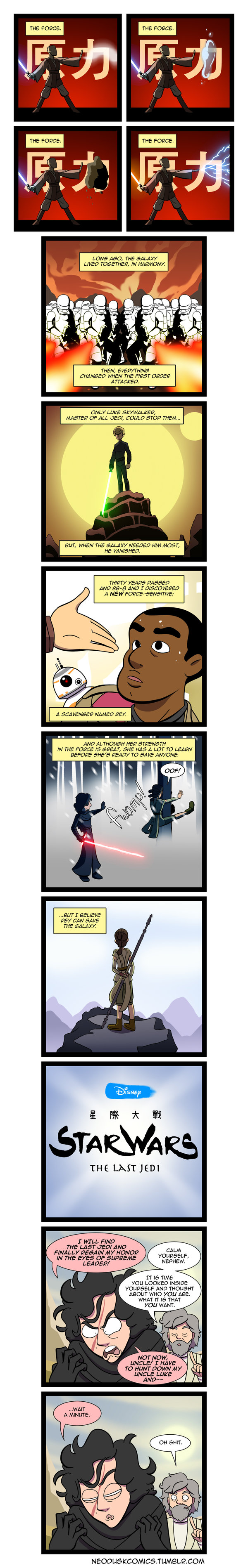 Avatar: The Last Jedi Comic