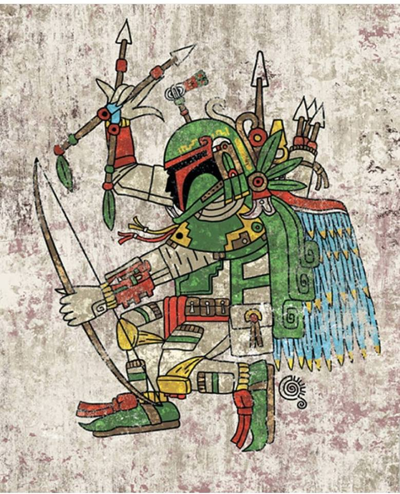 Aztec Warrior Pop Culture Fan Art