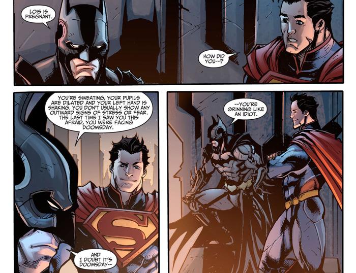 Superman Asks Batman to Be His Kids Godfather