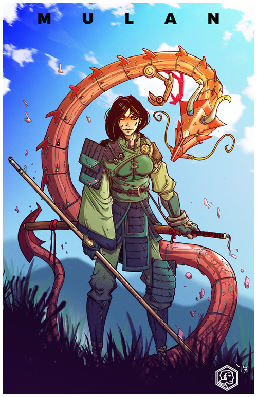 Battle Disney Princess Fan Art