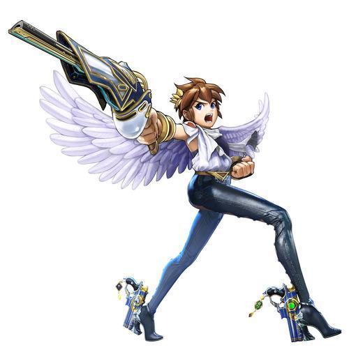 Bayonetta Legs on Nintendo Characters
