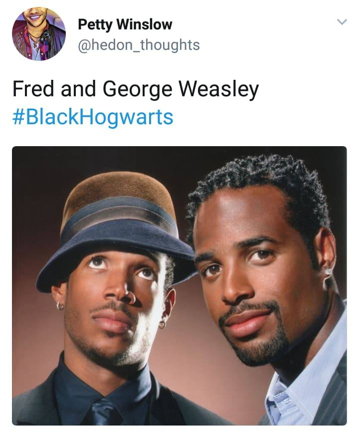 Black Hogwarts -Harry Potter Fan Casting