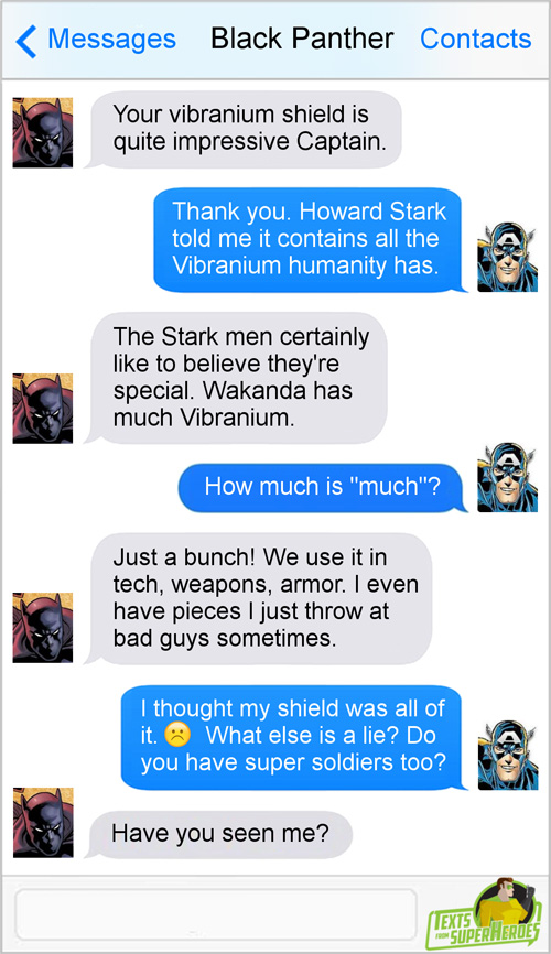 Black Panther Texts