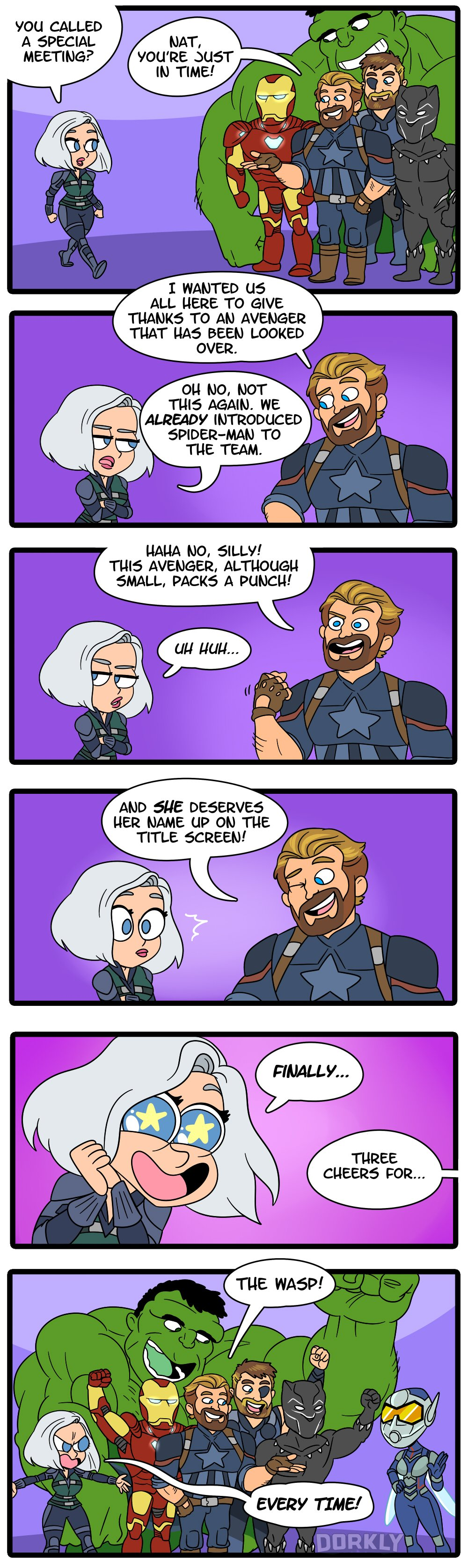 An Avenger Finally Gets The Recognition They Deserve