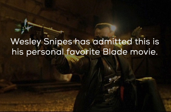 Blade II Facts
