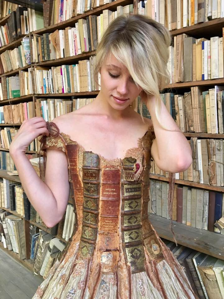 Gorgeous Book Gown