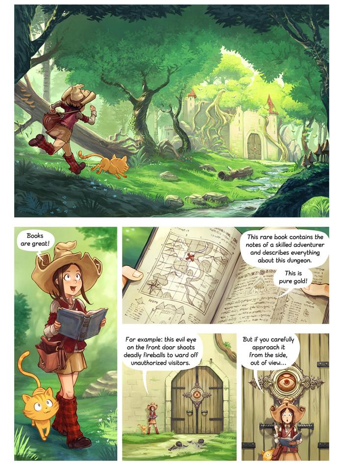 Books Are Great - Fantasy Comic
