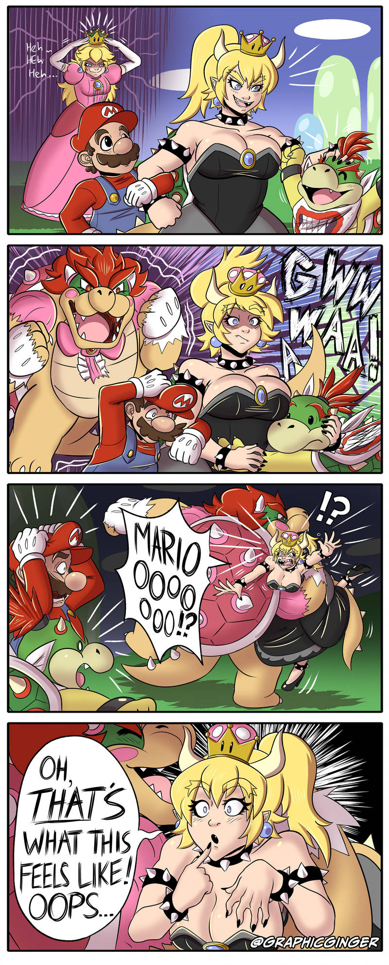 Bowsette Gains the Power-Up of Understanding