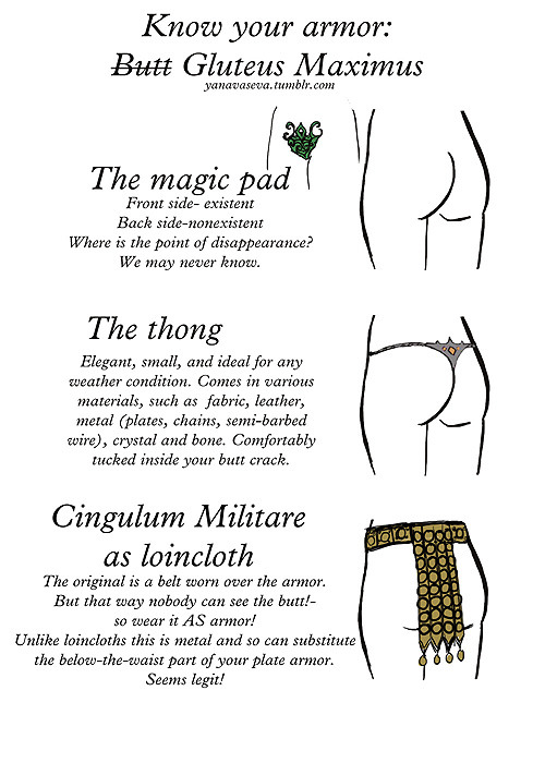 Know Your Butt Armor