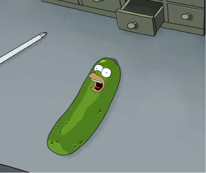 Iconic Cartoon Characters Reimagined as Pickles