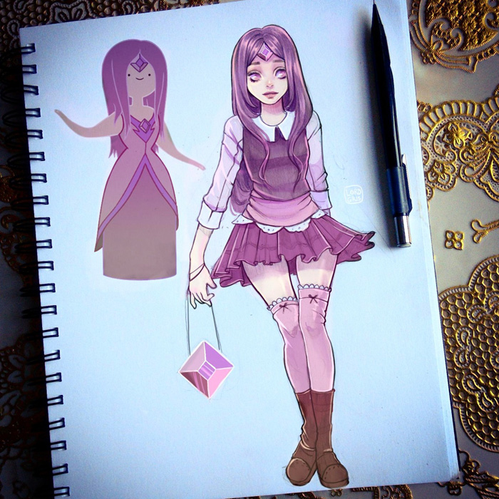 Cartoon Character Fan Art Redraws