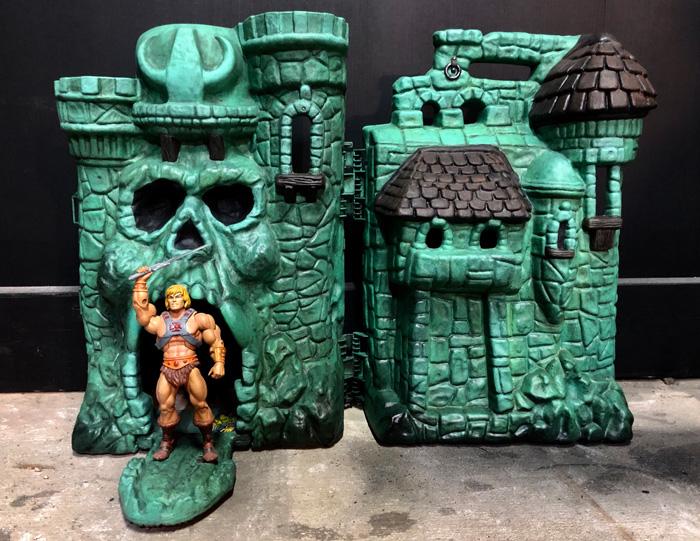 Original Castle Grayskull Repaint