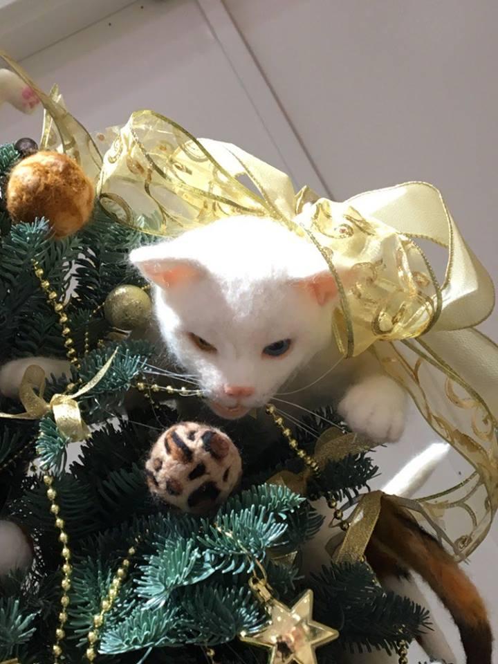 Kitty Christmas Tree