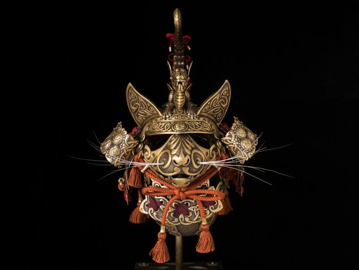 Celtic Samurai Cat Armor