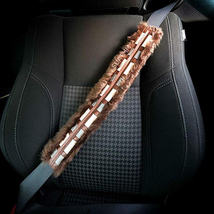 """Chewbelta"" Star Wars Chewbacca Seat Belt Cover"