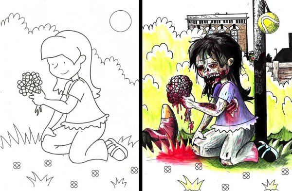 Coloring Book Artists Who Went Way Outside The Lines