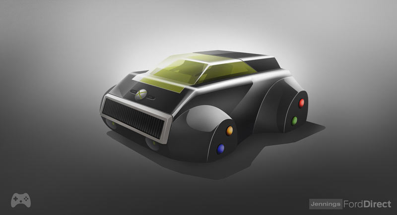 8 Classic Game Consoles Redesigned as Cars