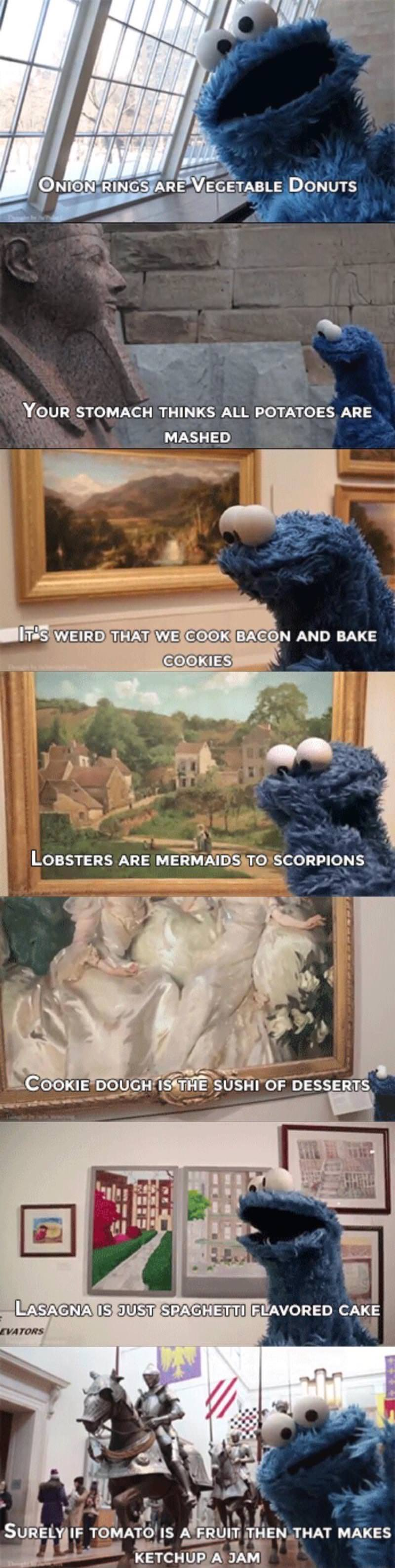 Cookie Monster Thoughts
