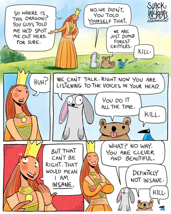 Disney Princesses are Crazy