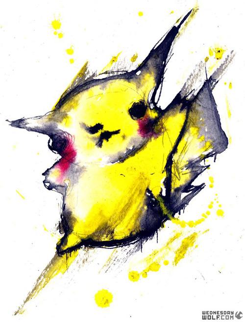 Creepy Pokemon Fan Art