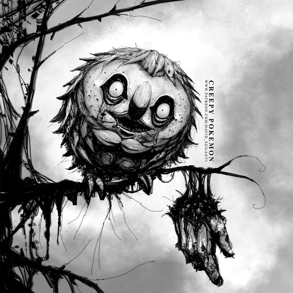 Creepy Pokemon Fan Art