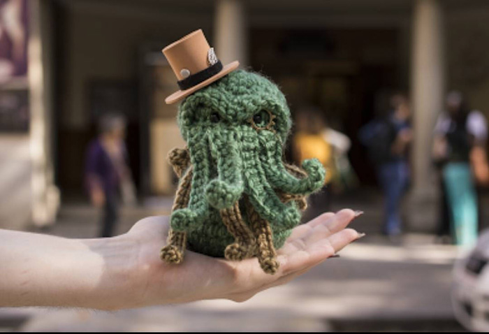 Crochet Cthulhu Mashup Dolls
