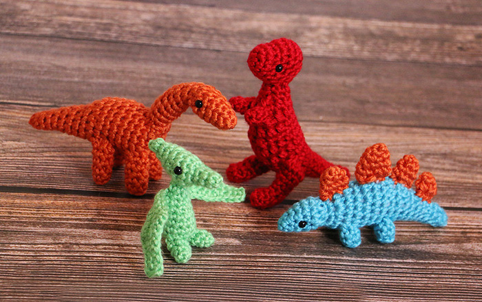 Crochet Dino Babies