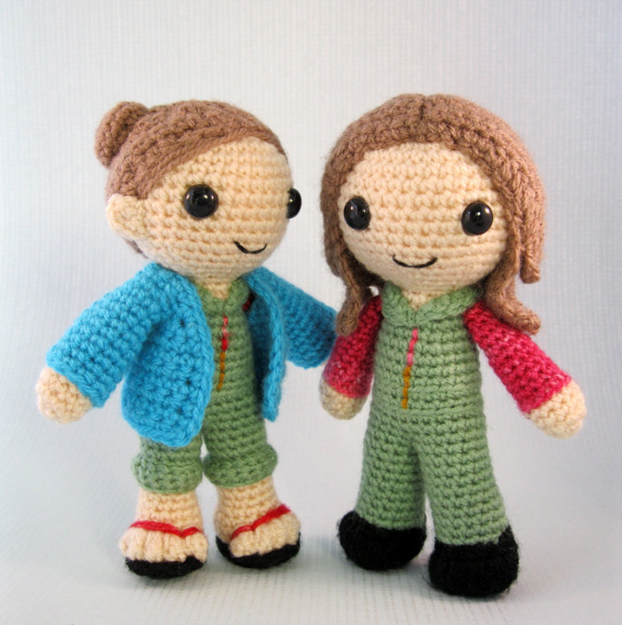 Crocheted Kaylee Frye from Firefly