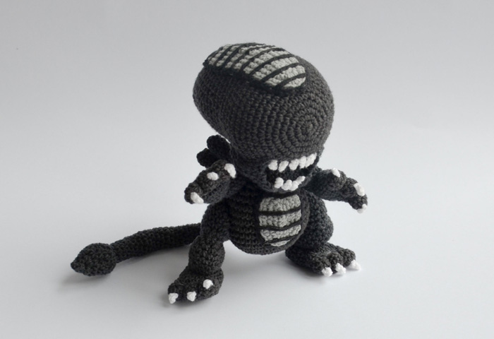 Crochet Xenomorph : By: Krawka Crochet - Crochet Xenomorph Pattern available here!