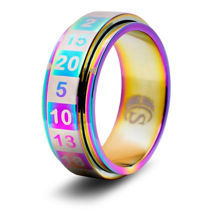 D20 Dice Ring