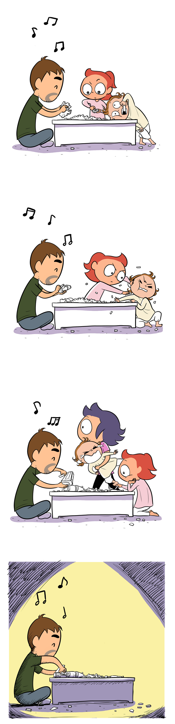 When Dad Buys Toys - Comic