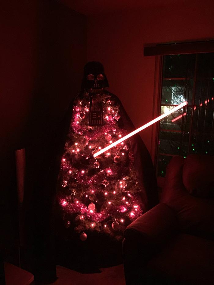 Darth Vader Christmas Tree