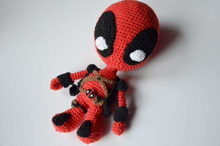 Crocheted Deadpool